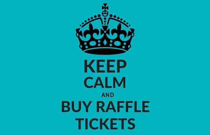 raffle prize template