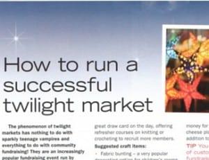 Twilight Market Fundraising