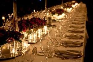 Organising a fundraising dinner