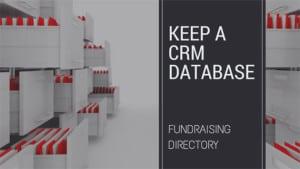 Keep-a-CRM-Database