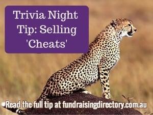 Easy trivia fundraising idea