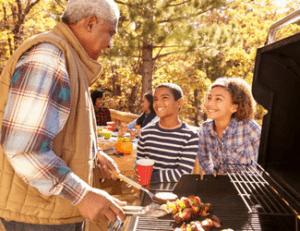 Grandparent volunteer fundraising