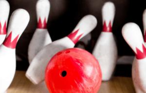 large ten pin bowling fundraiser