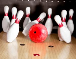 small ten pin bowling fundraiser
