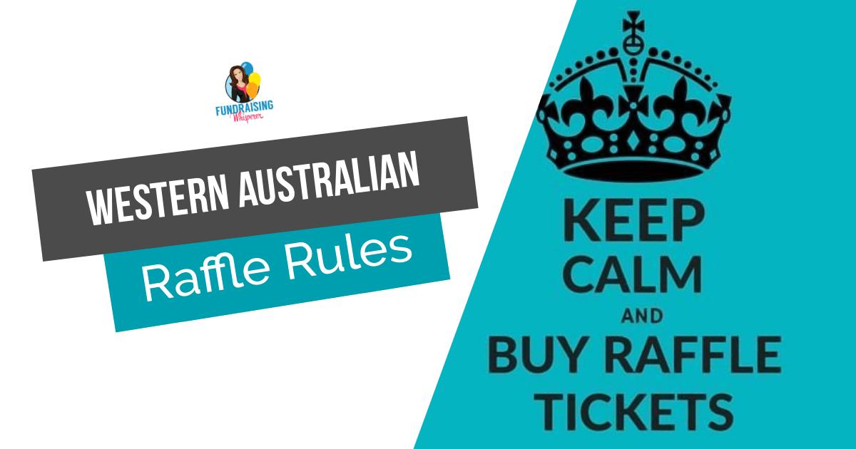 Raffle Rules in Western Australia | Fundraising Directory