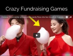 crazy fundraising games