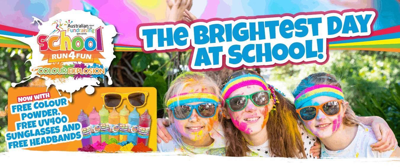 Colour Explosion School Run 4 Fun