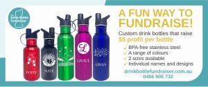 The Drink Bottle Fundraiser DL header
