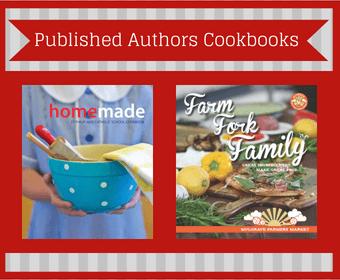published authors cookbook fundraising