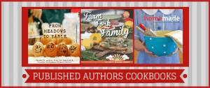 published authors cookbooks DL Header