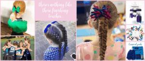 Hair tie fundraiser
