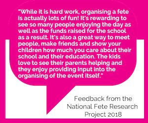 benefits of fete volunteering
