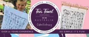 tea towel fundraising