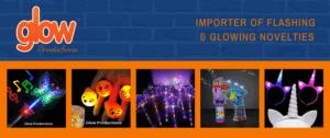 Glow products school disco