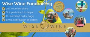Wine fundraising Australia