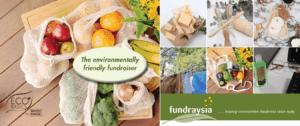 Environmentally friendly fundraising