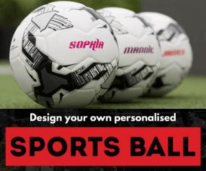 customised soccer ball