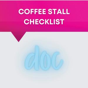 Coffee Stall Checklist