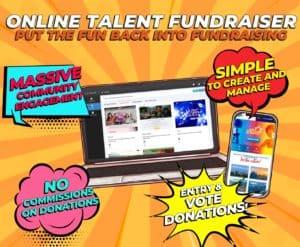 Online talent fundraiser