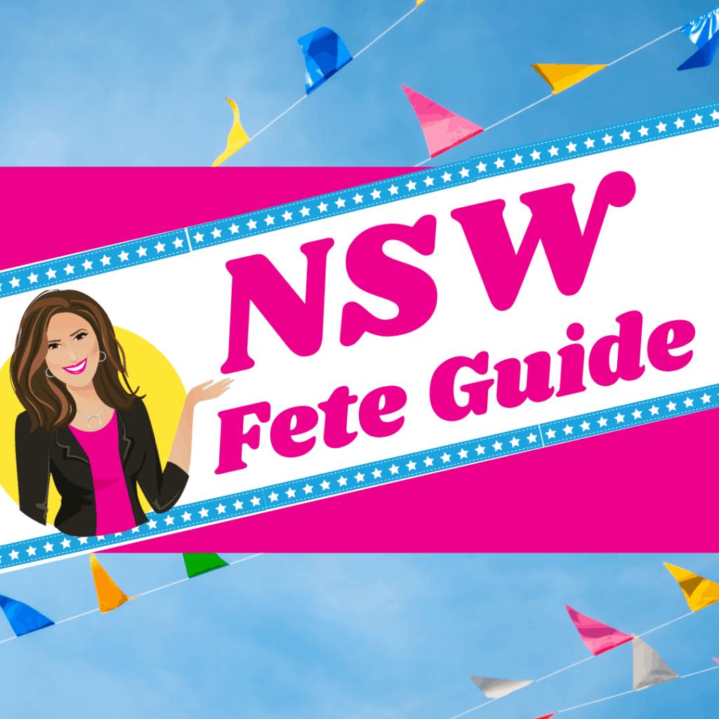 NSW Fete Organiser Guide