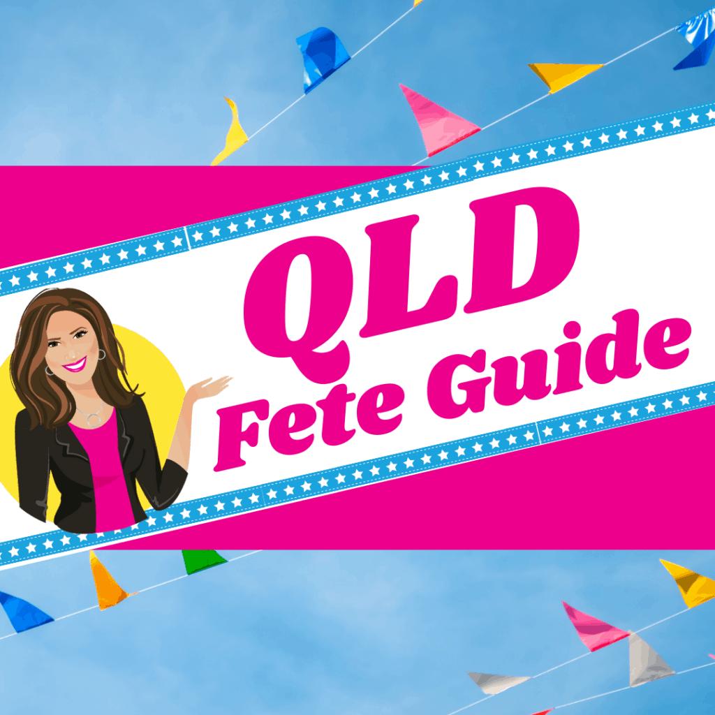 QLD Fete Organiser Guide