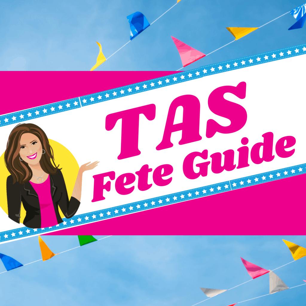 TAS Fete Organiser Guide