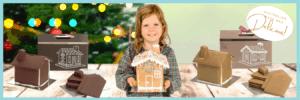 Gingerbread house fundraiser