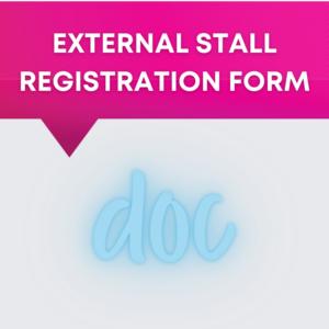 External Stall Registration Form