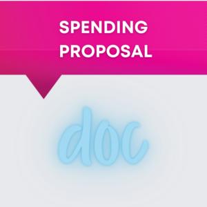 spending proposal